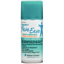 Pain Ease Topical Anesthetic Spray- Medium Stream, 3.5 oz - Pain Ease Topical Anesthetic Spray- Medium Stream, 3.5 oz