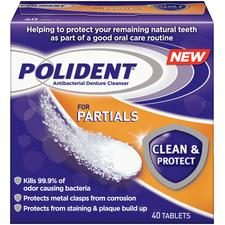 Polident® for Partials Clean & Protect Denture Cleanser