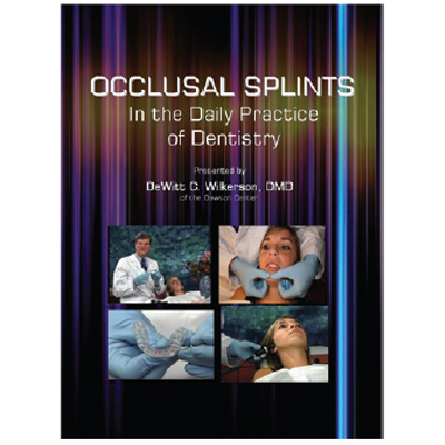 Occlusal Splints DVD