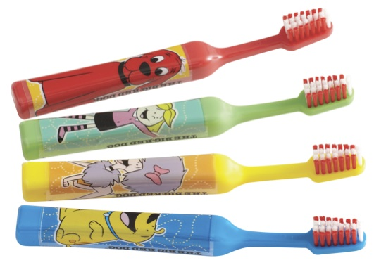 Acclean Clifford Toothbrushes