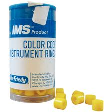 IMS Color Code Rings - Regular, 50/:Pkg - Black