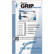 Dental Grip Nitrile Glove Sample