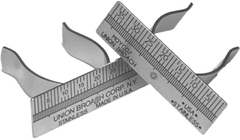 Finger and Thumb Rulers - Finger Ruler, Left Handed