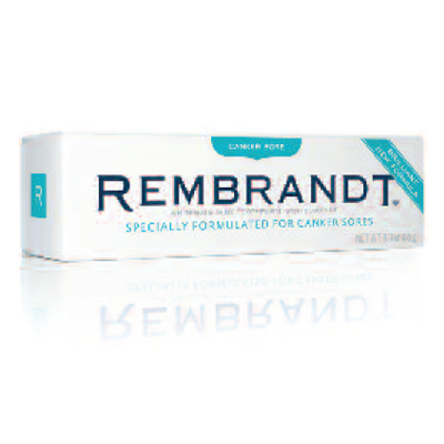 Rembrandt Canker Sore Toothpaste