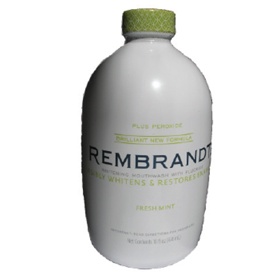 Rembrandt Plus Peroxide Whitening Mouthwash