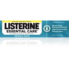 Listerine Essential Care Toothpaste