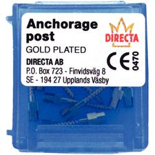 Anchorage Gold-Plated Posts Refill, 12/:Pkg