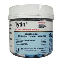 Tytin Amalgam Capsules - Spherical Alloy, Triple Spill, 800 mg, 50/:Pkg