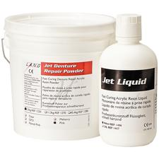 Jet Denture Repair - Powder - Clear, 4 oz Powder