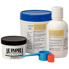 Aurora VLCTray Resin - Visible, Light Cure, Acrylic, 3 lb, Blue