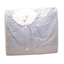 Lab Jackets - Blue, 30/:Pkg - Extra Large