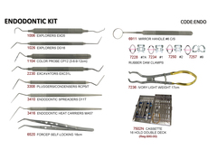 Complete Endodontic Kit: 20 Piece Set