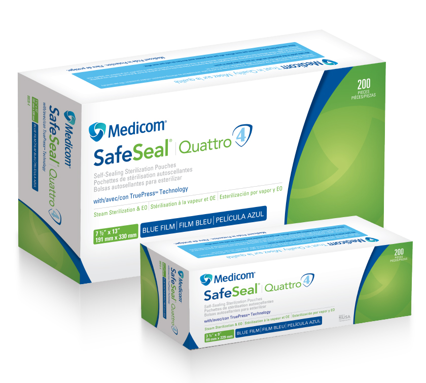 SafeSeal Quattro Pouches