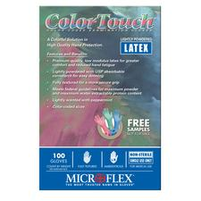 ColorTouch Powdered Latex Glove Sample