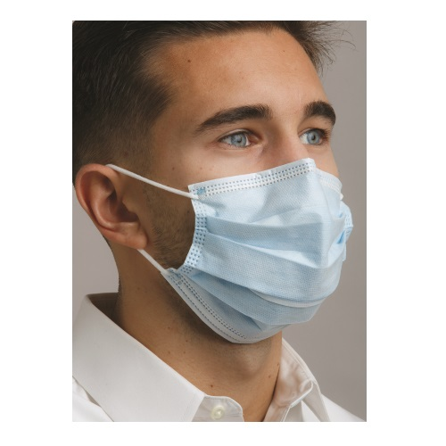 DEFEND Level 2 Dual Fit Ear-Loop Face Mask (Pleated)
