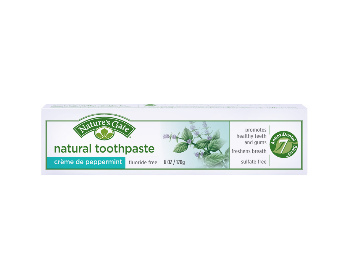 Natures Gate Natural Toothpastes