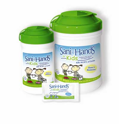 Sani-Hands Hand Wipes