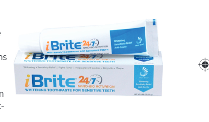 iBrite 24/7 Care Whitening Toothpaste