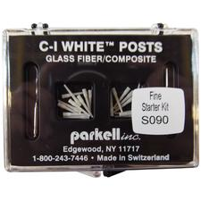 C-I White Glass Fiber Posts