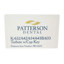 Patterson® Replacement Turbine for KaVo 632/:642/:643B/:633