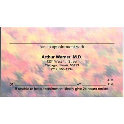 Appointment Card, 3-1/:2