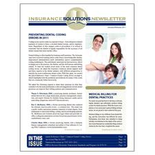 Insurance Solutions Newsletter 1-Year Subscription - Subscription