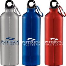 Aluminum Water Bottle, 28 oz, Personalized, 96/:Pkg - Water Bottle