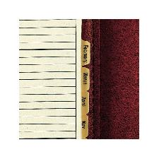 Looseleaf 3-Ring Binder, Burgundy - Jumbo