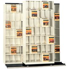 Datum BiSlider with Straight Shelves, 3 Units (2x1) - 5 Tier