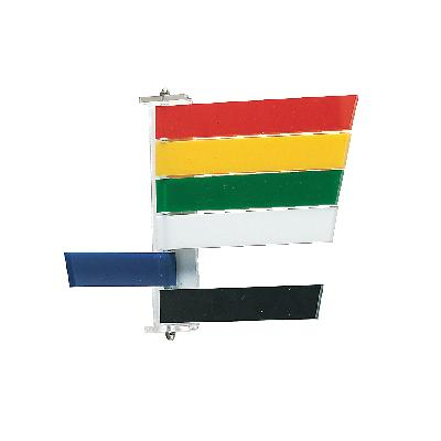 Room Signals, 4 Flags/:Sign - Red, Yellow, Green, White