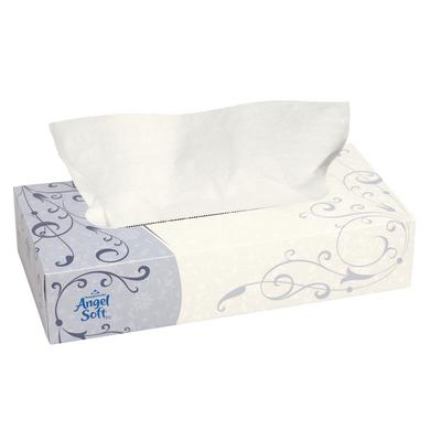 Facial Tissue, Cube Box, Angel Soft ps®, 96 Sheets/:Box, 36 Box/:Case - Angel Soft ps®
