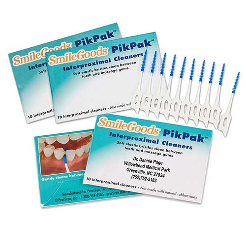 SmileGoods PikPak Interproximal Cleaners