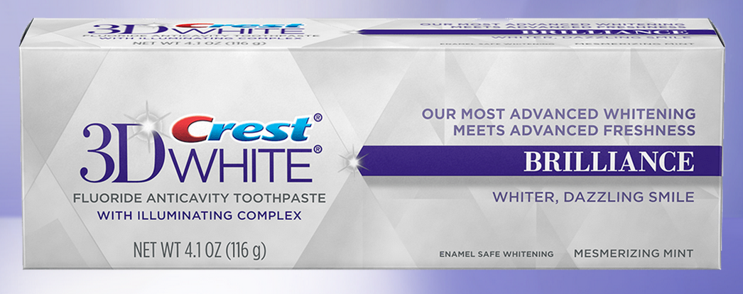 Crest 3D White Brilliance Toothpaste
