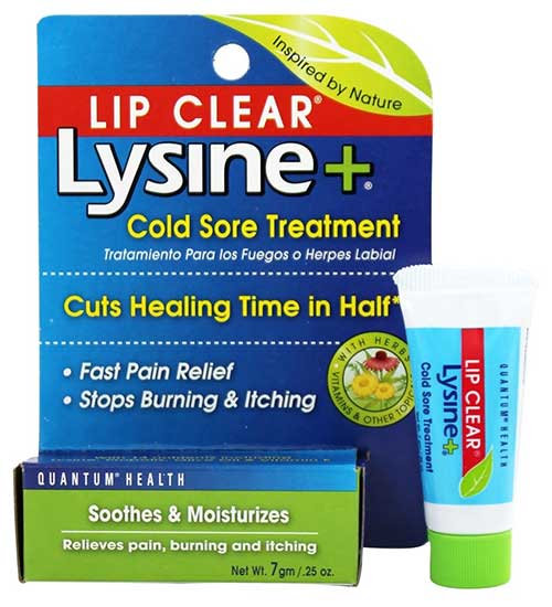 Quantum Health LIP CLEAR Lysine+