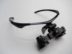 2.3x Watertight Loupe on Rose Sport Frame