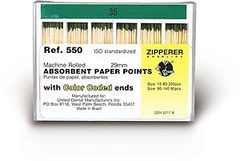 Absorbent Paper Points: Standardized - 1200.02Bulk Pack#45 /: 29 mmNon-sterile
