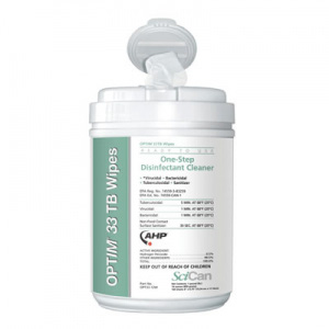 OPTIM 33 TB Wipes Surface Disinfecting Wipes