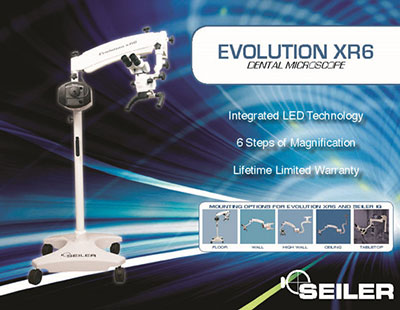 Dental SEILER EVOLUTION XR6 0-220 MICROSCOPE