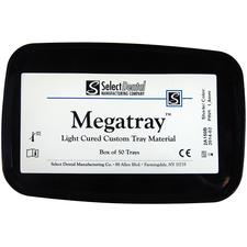 Megatray- Light Cure Tray Material, 2 mm, 50/:Box - 2 mm Pink