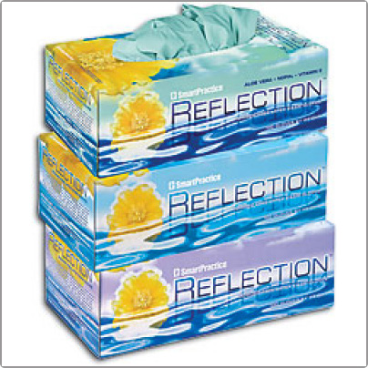 Reflection Latex Powder Free Exam Gloves