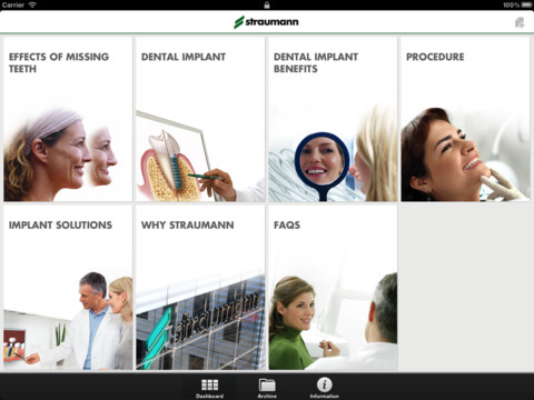 Straumann Patient Education App