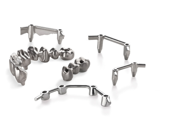 Straumann CARES Screw-Retained Bars and Bridges