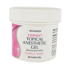 Topex® Topical Anesthetic- 100 g Gel - Mint
