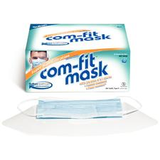 Com-Fit Super High Filtration Masks with Shield, 25/:Box