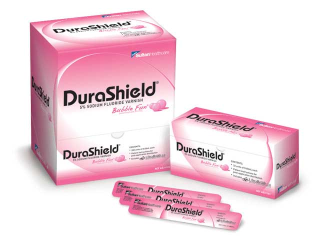 DuraShield® CV 5% Sodium Fluroide Clear Varnish