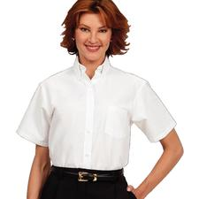 Fashion Seal Healthcare Ladies Oxford Short Sleeve Shirt