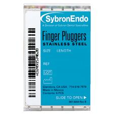 Finger Pluggers - Stretch B Handle, 6/:Pkg