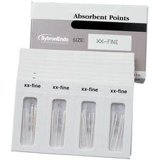 Absorbent Points - Auxiliary Size Cell Pack, 180/:Box - Assorted