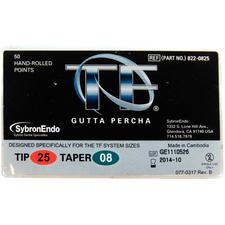 TF Gutta Percha Points, 50/:Pkg