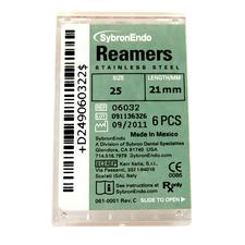 Reamers - Plastic Handle, Standard Color Coded 08-40, 21 mm, 6/:Pkg